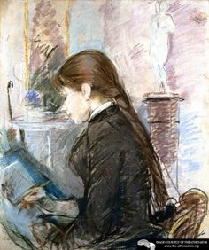 Paule Gobillard Drawing  Berthe Morisot