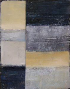 "Saatchi Online Artist: Julie Baugnet; Oil 2013 Painting ""Grey Winter #2"""