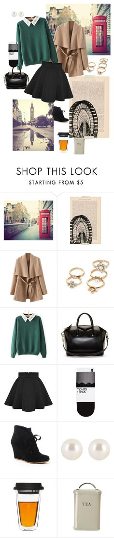 A Foggy Day in London Town by newyork-londonandback on Polyvore featuring H&M, Dolce Vita, Givenchy, Forever 21, Henri Bendel, Garden Trading and Sagaform