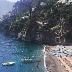 """Do you love Positano? Gwyneth Paltrow too! Love story between Positano and @gwynethpaltrow who taking this photo said: """"Positano, un piccolo Gioiello Italiano!""""#divinaday. Double tap if you agree with her!"""