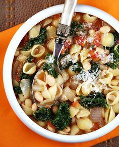 Italian Pasta Fagioli Soup Recipe