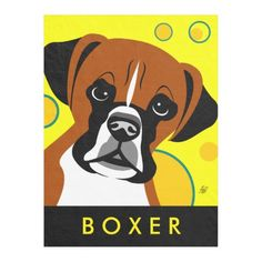 #Boxer #Dog Lover #Gifts Fleece #Blanket #cute #cartoon #animal I love it, who else love this #beautiful blanket?
