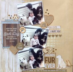 """<p>Hi+everyone+Elaine+here+again+with+another+layout+made+using+the+fabulous+Pawfect+collection..+just+right+for+animal+lovers!+First+I+took+a+sheet+of+Mocha+Kaisercard+and+used+the+Rough+Grid+mini+stencil+with+some+texture+paste+to+give+it+some+dimension.+I+then+misted+the+card+with+Kaisermist+<a+href=""""+http://www.merlyimpressions.co.uk/blog/products/a-pawfect-scrapbook-layout/+"""">+…click+to+read+more</a></p>"""