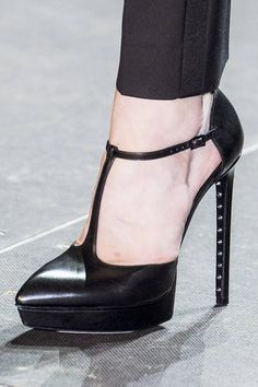 T-Strap: Saint Laurent Spring 2013