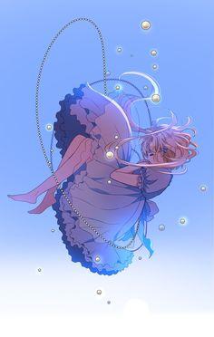 Anime Girl Cute, Anime Art Girl, Manga Art, Manga Anime, Kawaii Art, Kawaii Anime, Aesthetic Anime, Aesthetic Art, Anime Scenery Wallpaper