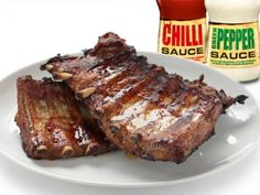 Barbecued Pork Spare Ribs Stock Photo (Edit Now) 115478152 Pork Spare Ribs, Ribs On Grill, Russian Recipes, Barbecue, Food And Drink, Stuffed Peppers, Baking, Image, Products