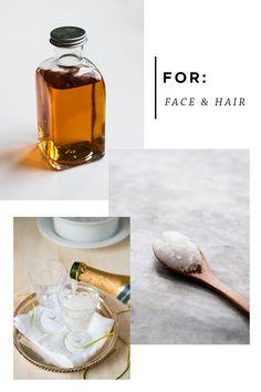 face hair fridge beauty remedies