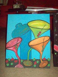 funky martinis
