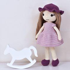 Maggie Opskrifter Go Handmade Chrochet, Hobbit, Maya, Crochet Hats, Dolls, Knitting, Handmade, Amigurumi, Crochet