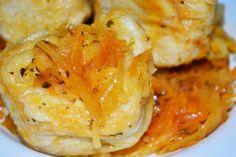 Rezept / Rezepte: schnelle Russische Strudli mit Sauerkraut