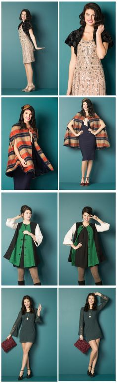 Stumped on your holiday party ensemble? Here's how to 'decade' the halls for time-traveling style!
