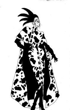 Cruella De Vil Movie Design