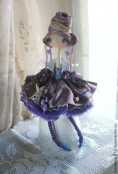 Коллекционные куклы ручной работы. Ярмарка Мастеров - ручная работа Фея-Крёстная...интерьерная кукла. Handmade.