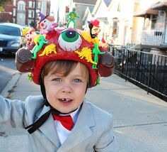 Henry's Pee Wee Herman costume Now that's commitment!