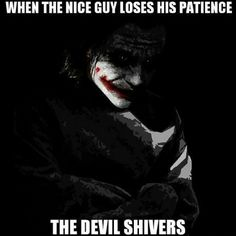 Haha awesome! May be true!  Never came to that yet! Dark Quotes, Evil Quotes, Best Quotes, Badass Quotes, Favorite Quotes, Life Quotes, Batman Joker Quotes, Batman Joker Tattoo, Joker Qoutes