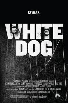 Film - White Dog (1982)  #movieposters #alternativemovieposters #design #kristymcnichol #80s #dogs