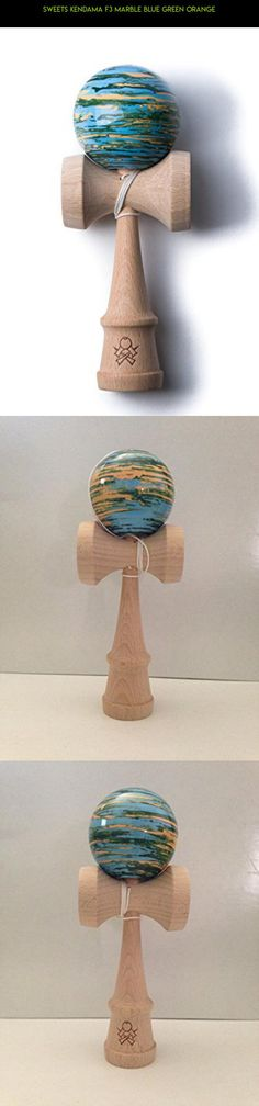 Sweets Kendama F3 Marble Blue Green Orange #plans #kit #parts #fpv #racing #kendama #tech #gadgets #camera #f3 #drone #products #shopping #technology