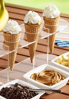 Your family is sure to enjoy this easy dessert recipe. Try Grilled Peanut Butter, Banana and Chocolate Cones tonight!