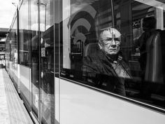 Photo Man in tram by Fokko Muller on 500px