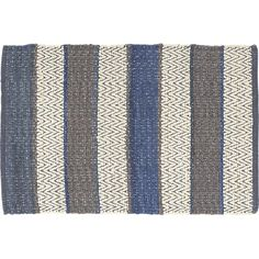 2x3 Harper Rug In Marine, $19.95   By Our Bed // Crate And Barrel