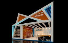 Projeto de estande para a Solaris