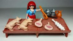Playmobil puesto carnicería belén
