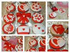 Cupcakes san valentin , corazón tartas pasteles dulces y salados by mpop