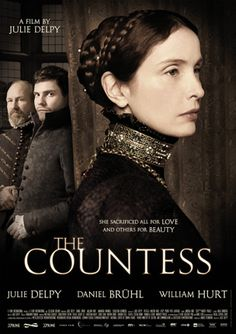 The Countess (3 stars) An odd foreign drama with English dialogue starring (and directed by) Julie Delpy with William Hurt, one of my favorite actors. The title character, played powerfully by Delpy, is said to be the worst female serial killer in history. She killed virgin peasants and servant girls and bathed in their blood to preserve her youthful looks. Supposedly a true story. A bit far-fetched, but worth a view.