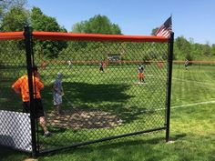 Jet City sweeps Bertrand in Bushwood Ballpark's inaugural game. Backyard Baseball, New Carlisle, Wiffle Ball, Slow Pitch, The Old Republic, American League, National League, Major League, Cool Kids