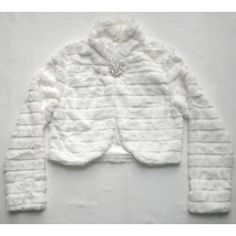 Faux Fur Bolero Jacket