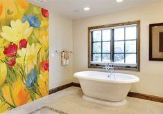 Meadow Bathtub, Curtains, Evo, Elegant, Luxury, Cover, Walls, Design Ideas, Inspiration