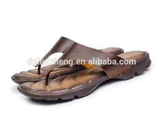 1dbb7945ca47 2016 Wholesale New Design Leather Sandals Men Made in China