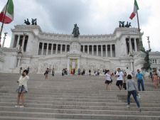Monument to Vittorio Emanuele II, first king of Italy
