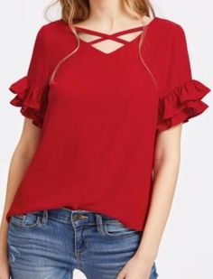 Blusas para mujer Limonni LI407 Casuales Blouse Styles, Blouse Designs, Look Fashion, Fashion Outfits, Womens Fashion, Blouse Dress, Pretty Outfits, Chiffon Tops, Casual Outfits
