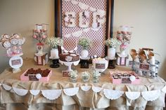 "Photo 12 of 48: Vintage/ Shabby Chic / First Communion ""Shabby Chic First Communion/8th Birthday Party"" 