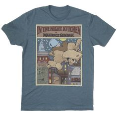Ahhhhhhh want soooooo bad!!!!!!!! In the Night Kitchen book cover t-shirt