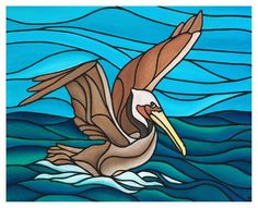 """Brown Pelican"" limited edition giclee print 