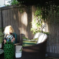 Note the gorgeous bamboo fencing  Photo by meredithheron