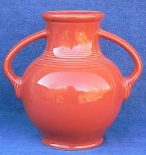 Fiesta First Quality Persimmon Millennium Vase I  - Retired
