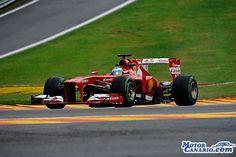 Alonso comienza el viernes liderando en Spa los primeros libres. #F1