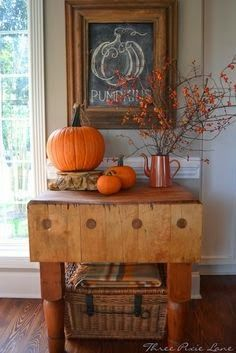 The Liberty Cottage Indoor Fall Decorating Sweet Home Decor Autumn