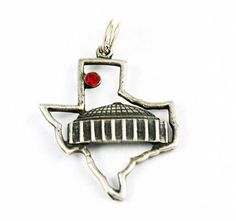 Astrodome Sterling Silver Vintage Charm Houston