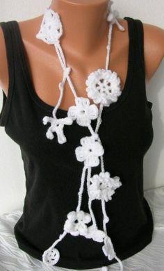 Crochet Lariat