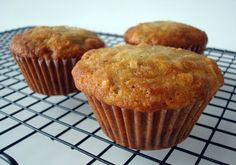 Banana Coconut Muffins - Courtesy of; Wilde in the Kitchen