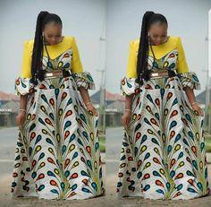 Modern Ankara Styles Latest African Fashion Clothing For Women. New Ankara Designs for modern day fashion. African modern ankara styles clothing stand out Best African Dress Designs, Best African Dresses, Latest African Fashion Dresses, African Print Dresses, African Print Fashion, Africa Fashion, African Attire, Ankara Fashion, Tribal Fashion