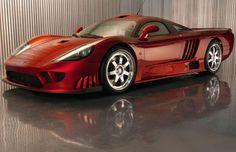 Fiery Red Saleen S7 Twin Turbo WOW!