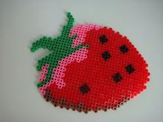 Erdbeere - Bügelperlen