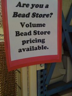 Are you a bead store?