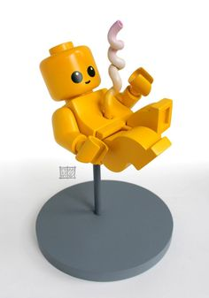 """Lego Fetus"" by Jason Freeny"
