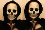 Skull Makeup by ~Lekstedt on deviantART